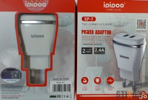 СЗУ iPipoo с 2-мя USB 5V 2.4A  ORIGINAL XP-7
