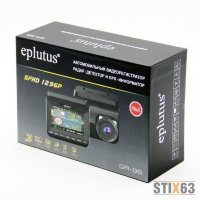 Combo 3 в 1 антирадар + регистратор + GPS Eplutus GR-96 СЕНСОРНЫЙ  (Mstar MSC8328P,LCD 3 ,SUPER HD , 170 уг.обз.,Стрелка СТ ,GPS) 4 стекл. линз